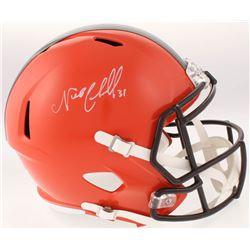 Nick Chubb Signed Cleveland Browns Full-Size Speed Helmet (Radtke COA)