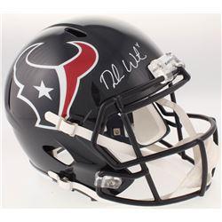 Deshaun Watson Signed Houston Texans Full-Size Speed Helmet (Beckett COA  Watson Hologram)