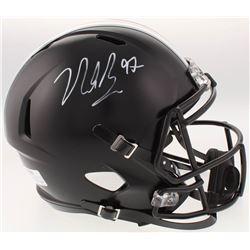 Nick Bosa Signed Ohio State Buckeyes Full-Size Speed Helmet (Radtke COA)