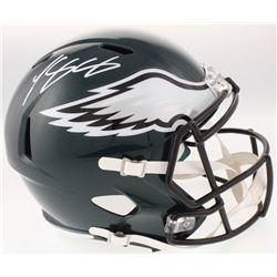 LeSean McCoy Signed Philadelphia Eagles Full-Size Speed Helmet (Radtke COA)