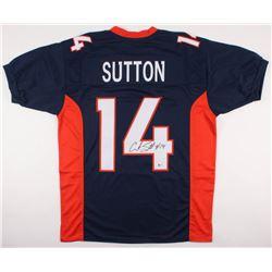Courtland Sutton Signed Denver Broncos Jersey (Beckett COA)