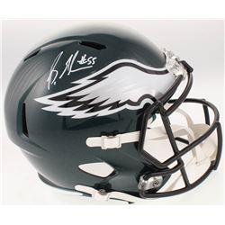 Brandon Graham Signed Philadelphia Eagles Full-Size Speed Helmet (Radtke COA)