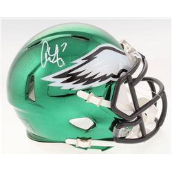 Alshon Jeffery Signed Philadelphia Eagles Chrome Speed Mini-Helmet (Radtke COA)