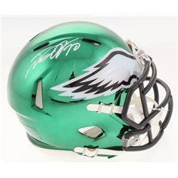 DeSean Jackson Signed Philadelphia Eagles Chrome Speed Mini-Helmet (Radtke COA)