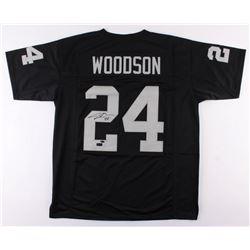 Charles Woodson Signed Raiders Jersey (Radtke COA  Woodson Hologram)