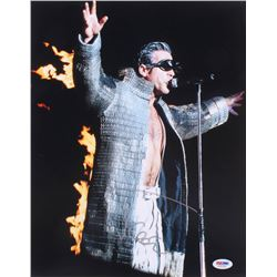 Till Lindemann Signed  Rammstein  11x14 Photo (PSA COA)