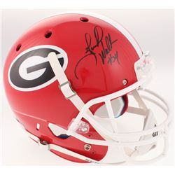 Herschel Walker Signed Georgia Bulldogs Full-Size Helmet (Beckett COA)