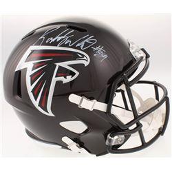 Roddy White Signed Atlanta Falcons Full-Size Speed Helmet (JSA COA)