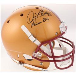 Doug Flutie Signed Boston College Eagles Full-Size Helmet Inscribed  Heisman 84  (Radtke COA)