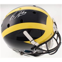 Brandon Graham Signed Michigan Wolverines Full-Size Helmet (Radtke COA)