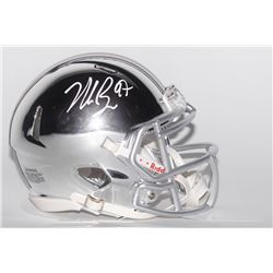 Nick Bosa Signed Ohio State Buckeyes Chrome Speed Mini Helmet (Radtke COA)