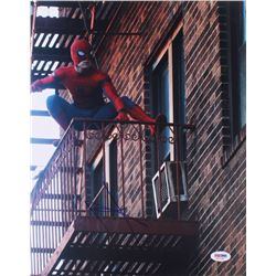 Tom Holland Signed  Spider-Man  11x14 Photo (PSA COA)
