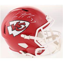 Kareem Hunt Signed Kansas City Chiefs Full-Size Speed Helmet (JSA COA)