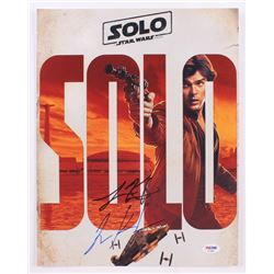 "Lawrence Kasdan  Jonathan Kasdan Signed ""Solo: A Star Wars Story"" 11x14 Photo (PSA COA)"