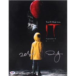 "Finn Wolfhard  Andy Muschietti Signed ""IT"" 11x14 Photo (PSA Hologram)"