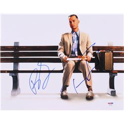 "Tom Hanks  Robin Wright Signed ""Forrest Gump"" 11x14 Photo (PSA LOA)"
