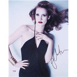 Jessica Chastain Signed 11x14 Photo (PSA Hologram)