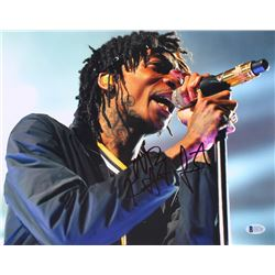 Wiz Khalifa Signed 11x14 Photo (PSA COA)