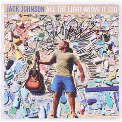 "Jack Johnson Signed ""All the Light Above It Too"" Vinyl Record Album Cover (PSA COA)"