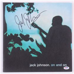 "Jack Johnson Signed ""On and On"" Vinyl Record Album Cover (PSA COA)"