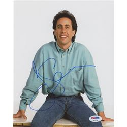"Jerry Seinfeld Signed ""Seinfeld"" 8x10 Photo (PSA COA)"