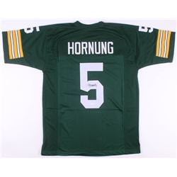 Paul Hornung Signed Green Bay Packers Jersey (JSA COA)