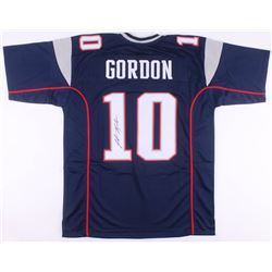 Josh Gordon Signed New England Patriots Jersey (JSA COA)
