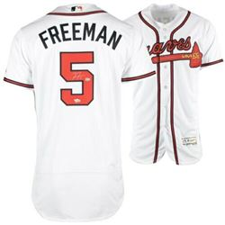 Freddie Freeman Signed Atlanta Braves Jersey (Fanatics Hologram  MLB Hologram)