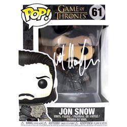 "Kit Harington Signed ""Game of Thrones"" #61 Jon Snow Funko Pop Figure (Radtke COA)"