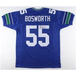 Brian Bosworth Signed Seattle Seahawks Jersey (JSA COA)