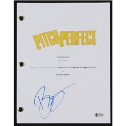 """Brittany Snow Signed """" Pitch Perfect"""" Full Movie Script (Beckett COA)"""