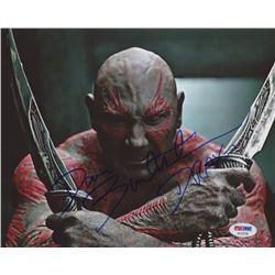 """Dave Bautista Signed """"Guardians of the Galaxy"""" 8x10 Photo Inscribed """"Drax"""" (PSA COA)"""