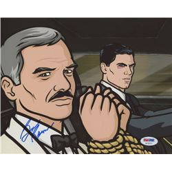 "Burt Reynolds Signed ""Archer"" 8x10 Photo (PSA COA)"