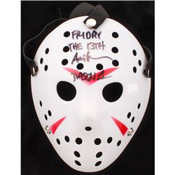 """Ari Lehman Signed """"Friday the 13th"""" Jason Voorhees Mask Inscribed """"Friday the 13th""""  """"Jason 1"""" (PA C"""