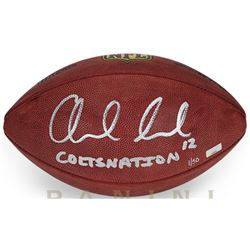 """Andrew Luck Signed Limited Edition """"The Duke"""" Official NFL Game Ball Inscribed """"COLTSNATION"""" (Panini"""