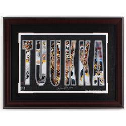 Tuukka Rask Signed Bruins 19x25 Custom Framed Photo Display (Rask Hologram)