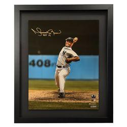"Mariano Rivera Signed New York Yankees 16x20 Custom Framed Photo Inscribed ""HOF 19"" (Steiner COA)"