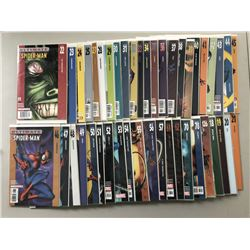 """Lot of (47) 2000 """"Ultimate Spider-Man"""" Marvel Comic Books from #18-126"""