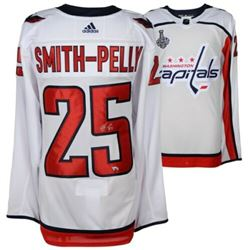 Devante Smith-Pelly Signed Washington Capitals 2018 Stanley Cup Final Jersey (Fanatics Hologram)