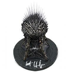 "Kit Harington Signed ""Game of Thrones"" 7"" Iron Throne (Radtke COA)"