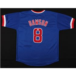 Andre Dawson Signed Chicago Cubs Jersey (JSA COA)