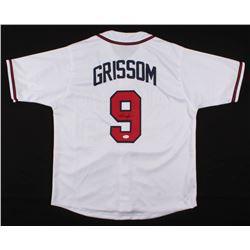 Marquis Grissom Signed Atlanta Braves Jersey (JSA COA)