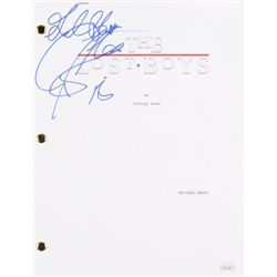 "Corey Feldman Signed ""The Lost Boys"" Full Movie Script Inscribed ""Love"" (PSA COA)"