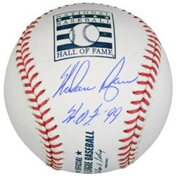 "Nolan Ryan Signed Hall of Fame Logo OML Baseball Inscribed ""HOF 99"" (Fanatics Hologram)"