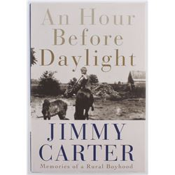 "Jimmy Carter Signed ""An Hour Before Daylight"" Hardcover Book (Beckett COA)"