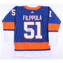 Valtteri Filppula Signed New York Islanders Jersey (JSA COA)