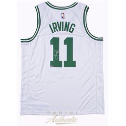 Kyrie Irving Signed Boston Celtics Jersey (Panini COA)