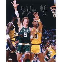 "Bill Walton Signed Boston Celtics 16x20 Photo Inscribed ""HOF 93"" (JSA COA)"