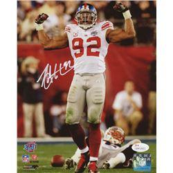 Michael Strahan Signed New York Giants 8x10 Photo (JSA COA)