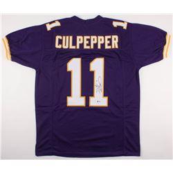 Daunte Culpepper Signed Minnesota Vikings Jersey (Beckett COA)